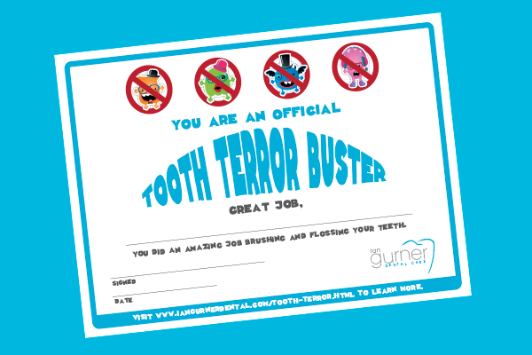 tooth terror children's award