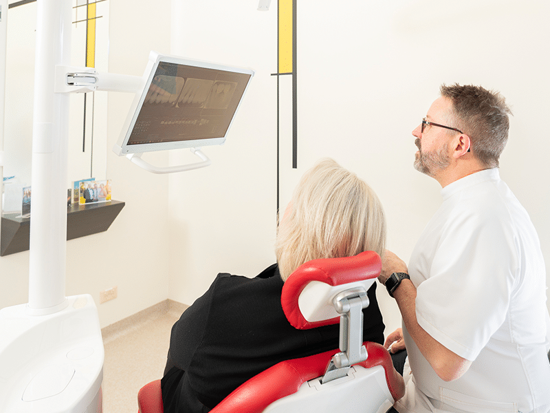 Ultra modern dental exam rooms
