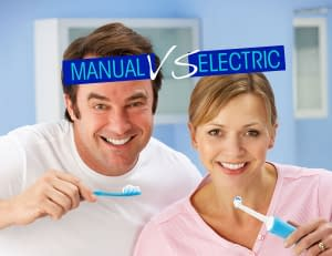 What is better manual or electric toothbrushes